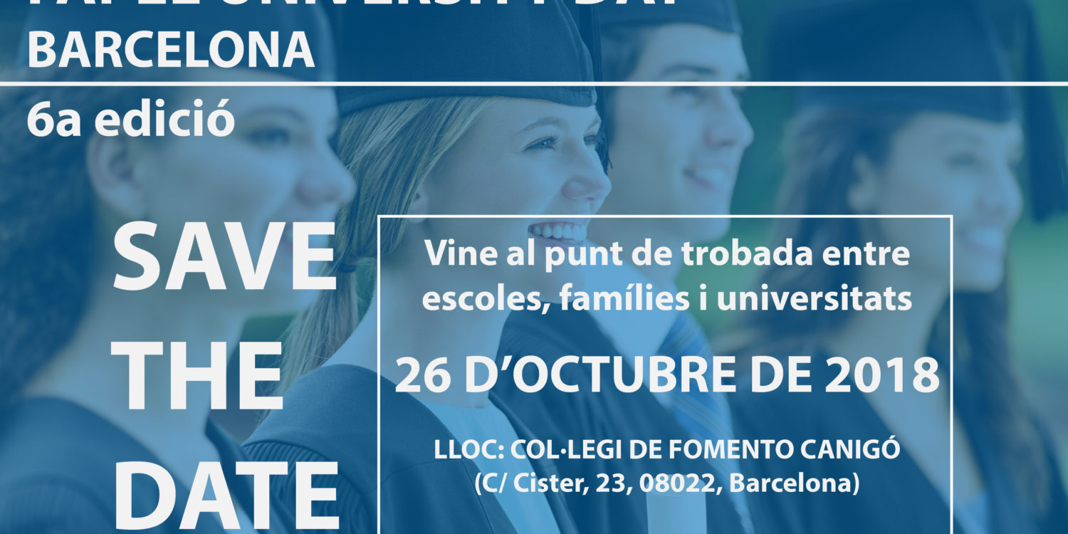 Save the date! VI edició del Fapel University Day Barcelona