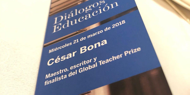 Fapel participa al 29è Diálogo de Educación, amb Cesar Bona