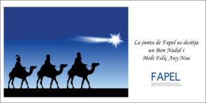 Felicitació Nadal Fapel
