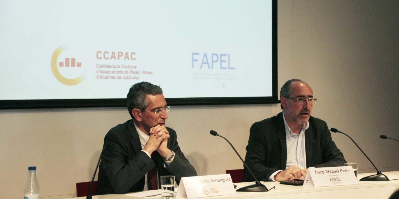Fapel i CCAPAC preparen mobilitzacions com a rebuig a l'esborrany del nou decret d'admissions d'alumnes