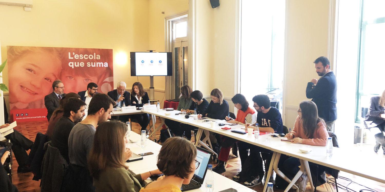 L'escola concertada catalana s'uneix per reivindicar el seu model educatiu